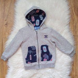 ADIDAS Jacket Toddler Sz 3T